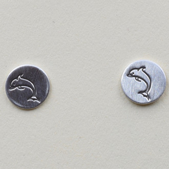 Dolphin Stud Earrings