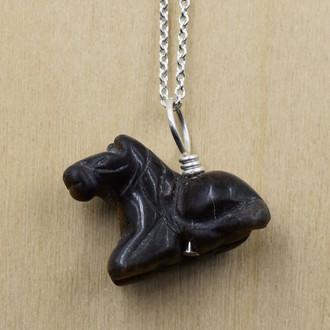 Horse Stone Necklace
