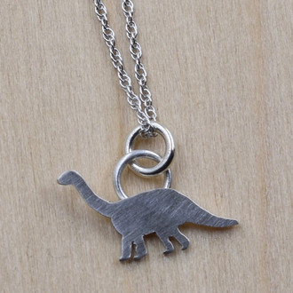 Itty Bitty Dinosaur Necklace