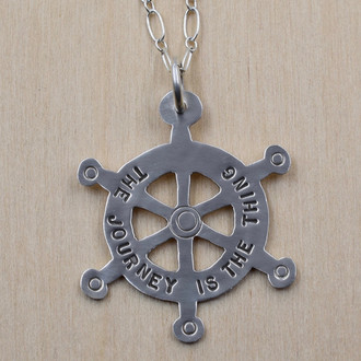 The Journey Is The Thing Necklace