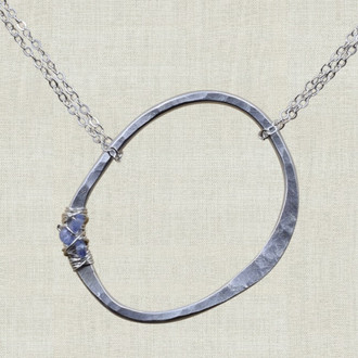 Love for Lily Life Circle Necklace
