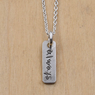 Handwritten Always Necklace