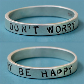 Don't Worry Be Happy Ring