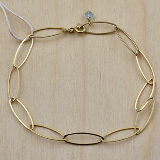 Oval Gold Fill Bracelet