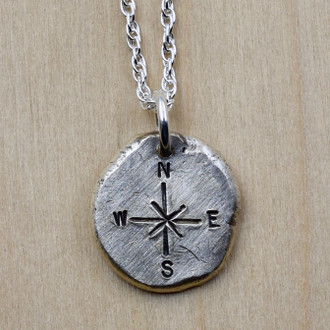 Compass Nugget Necklace
