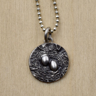 Two Egg Nest Necklace