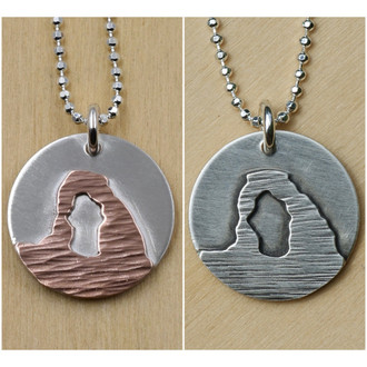 Delicate Arch Necklace