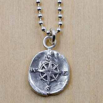 Compass Necklace - One of a Kind