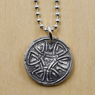 Celtic Wax Seal Necklace - One of a Kind