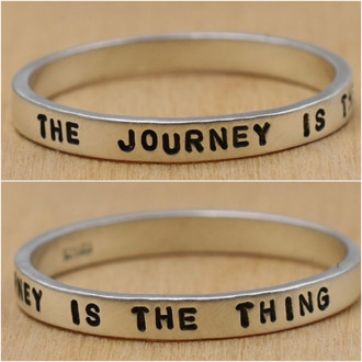 The Journey Is The Thing Ring