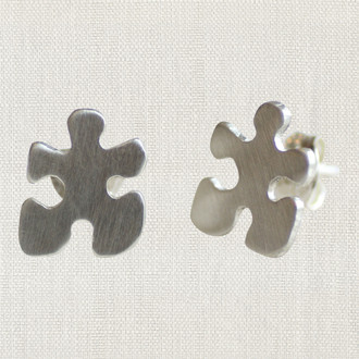 Autism Awareness Puzzle Piece Studs