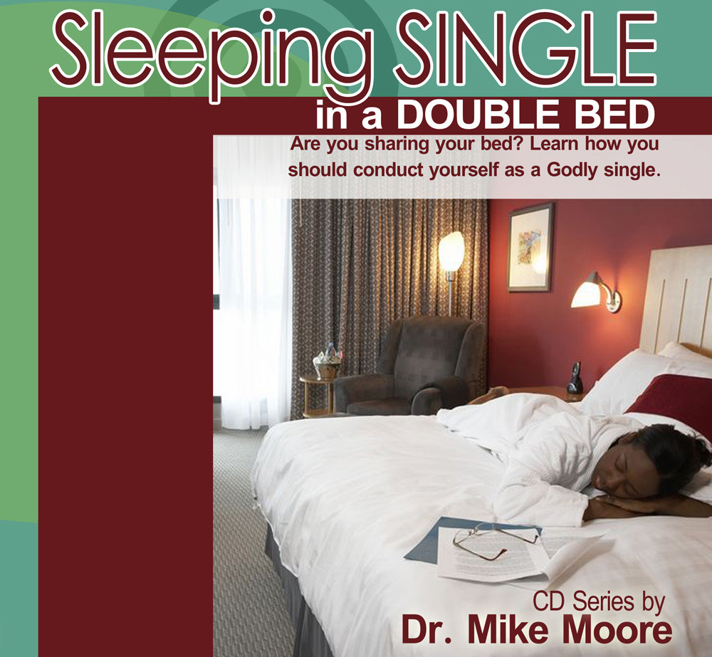 Sleeping in a single bed