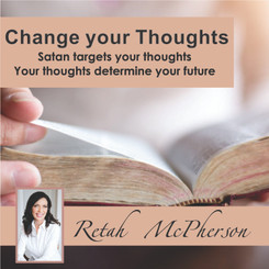 "Retah McPherson's English MP3 teaching about ""Change your Thoughts."" This is an English MP3 teaching. This product you will download directly after purchase. No CD will be shipped to you."