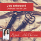 """Retah McPherson's Afrikaans CD teaching about """"Your Answer - The Blood of the Lamb."""" This is an Afrikaans CD teaching. This CD will be send to you via postal service or FedEx, it depends which shipping method you choose."""