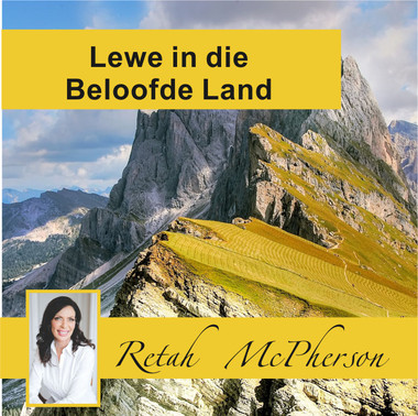 "Retah McPherson's Afrikaans CD teaching about ""Life in the Promised Land."" This is an Afrikaans CD teaching. This CD will be send to you via postal or courier service, it depends which shipping method you choose."