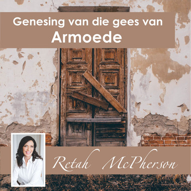 """Retah McPherson's Afrikaans MP3 teaching about """"Genesing van die gees van Armoede."""" This is an Afrikaans MP3 teaching. This product you will download directly after purchase. No CD will be shipped to you."""
