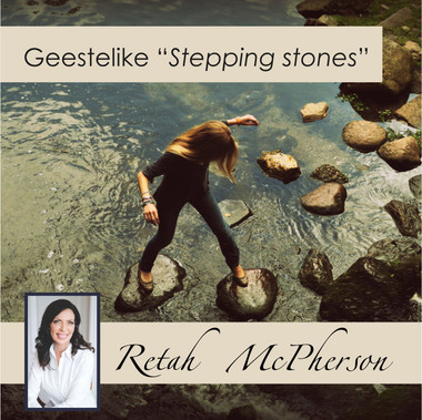 """Retah McPherson's Afrikaans MP3 teaching about """"Geestelike 'Stepping Stones'."""" This is an Afrikaans MP3 teaching. This product you will download directly after purchase. No CD will be shipped to you."""