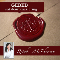 "Retah McPherson's Afrikaans MP3 teaching about ""Gebed, wat deurbraak bring."" This is an Afrikaans MP3 teaching. This product you will download directly after purchase. No CD will be shipped to you."