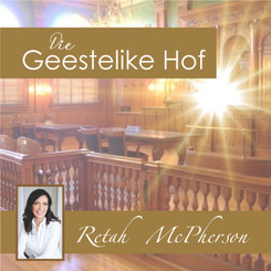 "Retah McPherson's Afrikaans MP3 teaching about ""Die Geestelike Hof."" This is an Afrikaans MP3 teaching. This product you will download directly after purchase. No CD will be shipped to you."