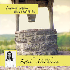 """Retah McPherson's Afrikaans MP3 teaching about """"Lewende water vir my nageslag."""" This is an Afrikaans MP3 teaching. This product you will download directly after purchase. No CD will be shipped to you."""