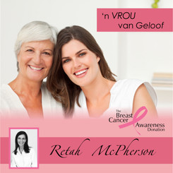 "Retah McPherson's Afrikaans MP3 teaching about ""'n Vrou van Geloof."" This is an Afrikaans MP3 teaching. This product you will download directly after purchase. No CD will be shipped to you."