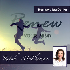 "Retah McPherson's Afrikaans MP3 teaching about ""Hernuwe jou Denke."" This is an Afrikaans MP3 teaching. This product you will download directly after purchase. No CD will be shipped to you."