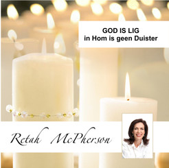 """Retah McPherson's Afrikaans MP3 teaching about """"God is Lig, in Hom is geen Duister."""" This is an Afrikaans MP3 teaching. This product you will download directly after purchase. No CD will be shipped to you."""