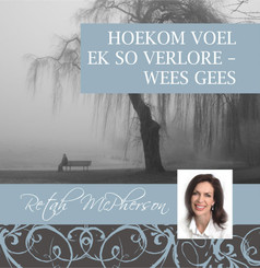 "Retah McPherson's Afrikaans MP3 teaching about ""Hoekom voel ek so verlore - wees Gees."" This is an Afrikaans MP3 teaching. This product you will download directly after purchase. No CD will be shipped to you."