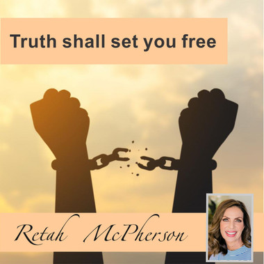 """Retah McPherson's English MP3 teaching about """"Truth shall set you free."""" This is an English MP3 teaching. This product you will download directly after purchase. No CD will be shipped to you."""