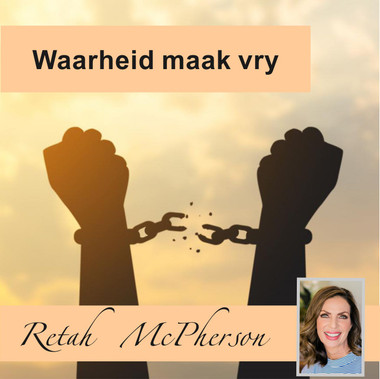 "Retah McPherson's Afrikaans MP3 teaching about ""Waarheid maak vry."" This is an Afrikaans MP3 teaching. This product you will download directly after purchase. No CD will be shipped to you."