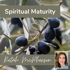 """Retah McPherson's English MP3 teaching about """"Spiritual Maturity."""" This is an English MP3 teaching. This product you will download directly after purchase. No CD will be shipped to you."""