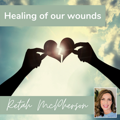 """Retah McPherson's English MP3 teaching about """"Healing of our wounds."""" This is an English MP3 teaching. This product you will download directly after purchase. No CD will be shipped to you."""
