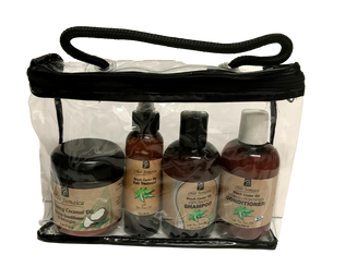 JBCO and Coconut Oil Hair Growth & Maintenance KIT (straight hair types)