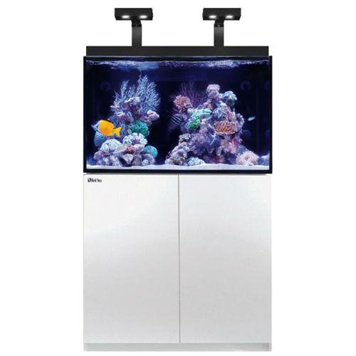 max e 260 69 gallon white complete reef system red sea