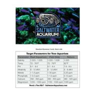SaltwaterAquarium.com Tank Parameter Reference Card