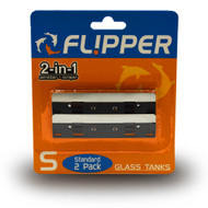 Stainless Steel Replacment Blades Glass (2pack)  - Flipper