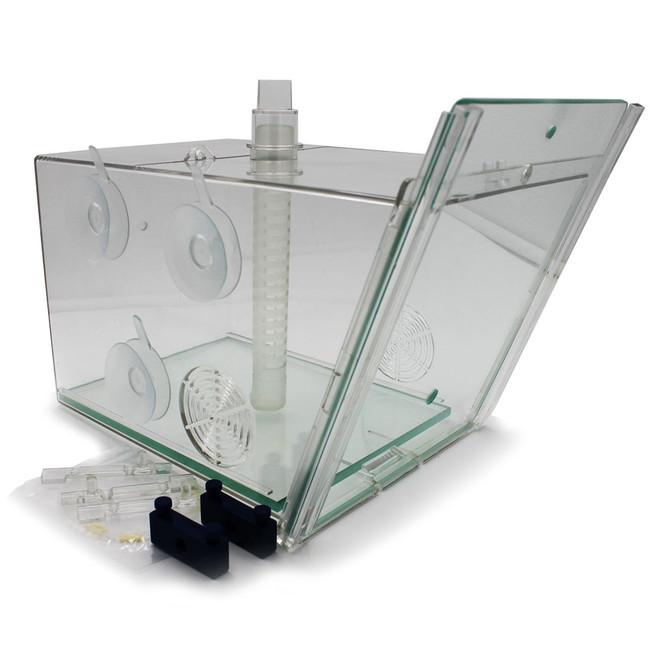glass door fish trap 11 x 7 x 7 aqua medic
