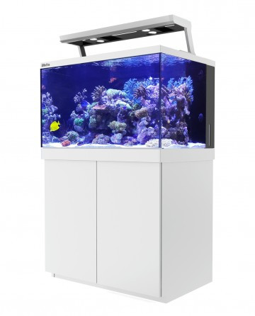 max s series s 400 white 110 gallon complete reef system red sea