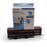 300 Watt  Titanium Heater w/Digital Controller (40-80 Gallon) - Finnex