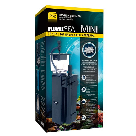 fluval sea ps2 mini protein skimmer up to 20 gallons fluval