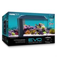 "Evo Aquarium Complete Kit 13.5 Gallons (22"" x 11.5"" x 12.5"") w/Skimmer & Heater - Fluval"