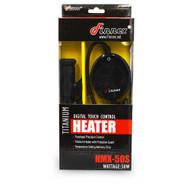 HMX 50S Titanium Heater w/Digital Touchpad & Guard (10-20 Gallon) - Finnex