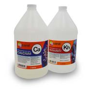 ME 2 Part Calcium (CA) & Alkalinity Liquid - 2 Gallon Concentrate Pharmaceutical Grade - MECoral