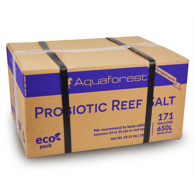 probiotic reef salt 25 kg 200 gallons box aquaforest