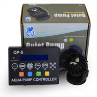 QP-5 Quiet Pump with Wireless Control (10-50 Gallons) - Coral Box