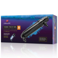 Turbo Twist 12X UltraViolet Sterilizer 36W (500 gal) - Coralife