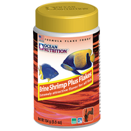 Brine Shrimp Plus Flake Food (5.5 oz) - Ocean Nutrition