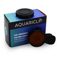 Smartphone Orange Gel Filter Aquarium Photography Lens - AquariClip