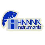 Hanna Instruments Promo Sticker On Clear Background (Limit 1 Free Item Per Order) FREE OVER $20 - Hanna