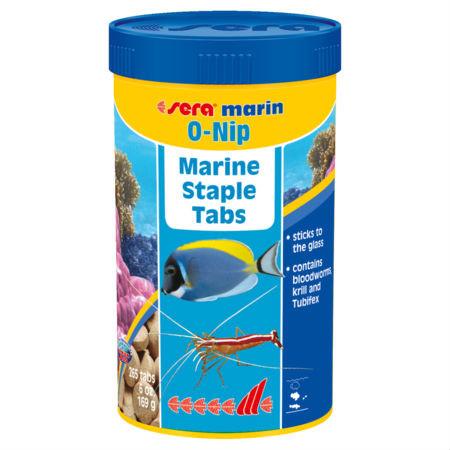 o nip marine staple grazing tabs 6 oz 265 tablets sera